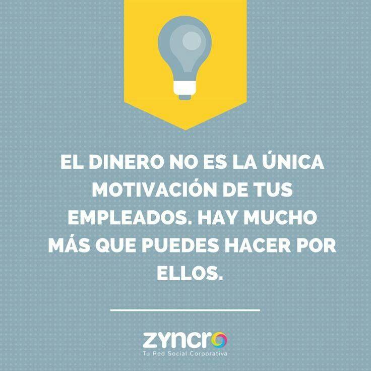 Mucho más que dinero... #motivación
