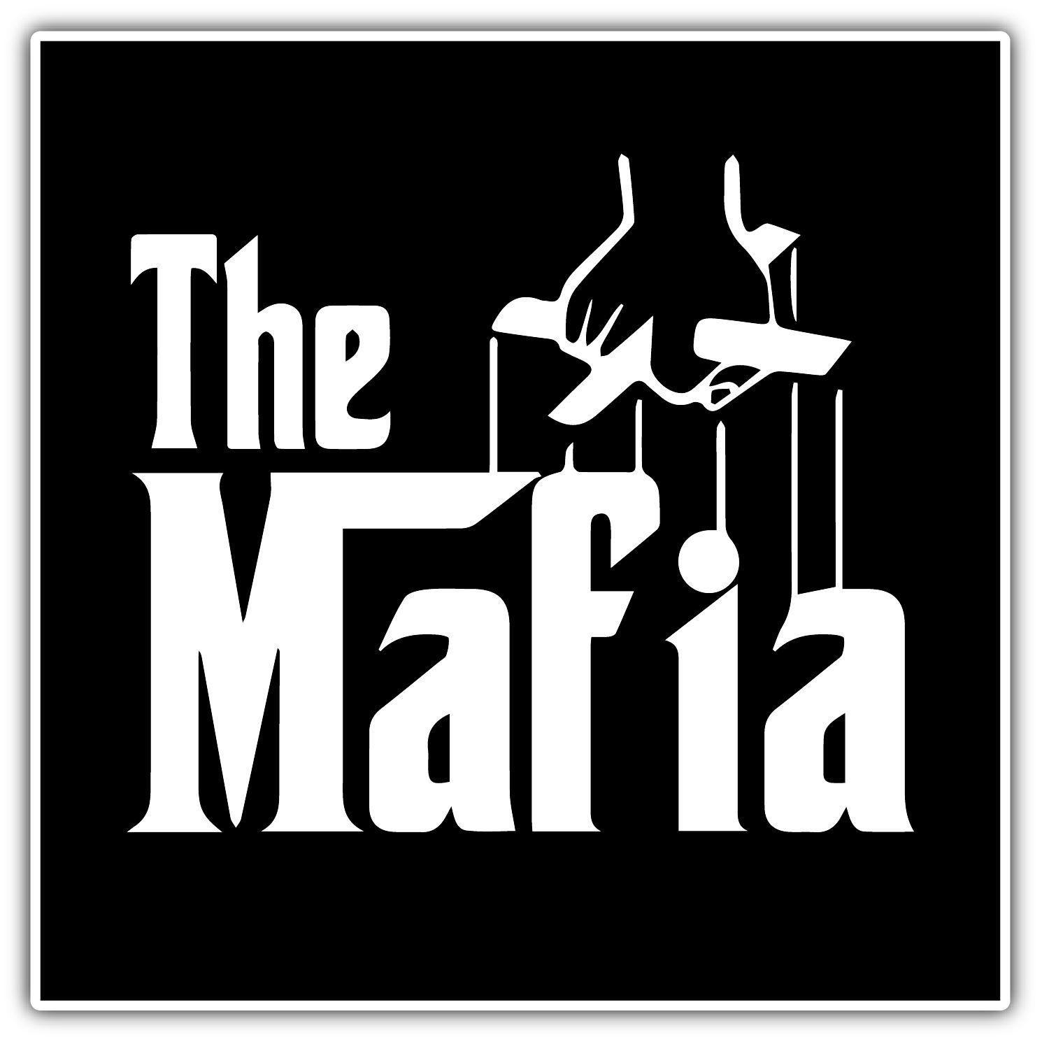 Mafia Godfather Crime Family Gangster Car Bumper Vinyl Sticker Decal 4 6 X4 6 Car Sticker Design Mafia Cricut Cuttlebug [ 1490 x 1490 Pixel ]