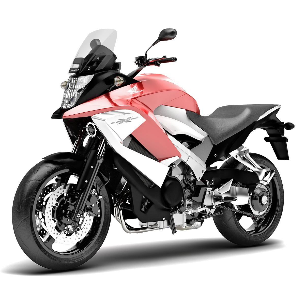 Honda Crossrunner 3D Model AD ,HondaCrossrunnerModel