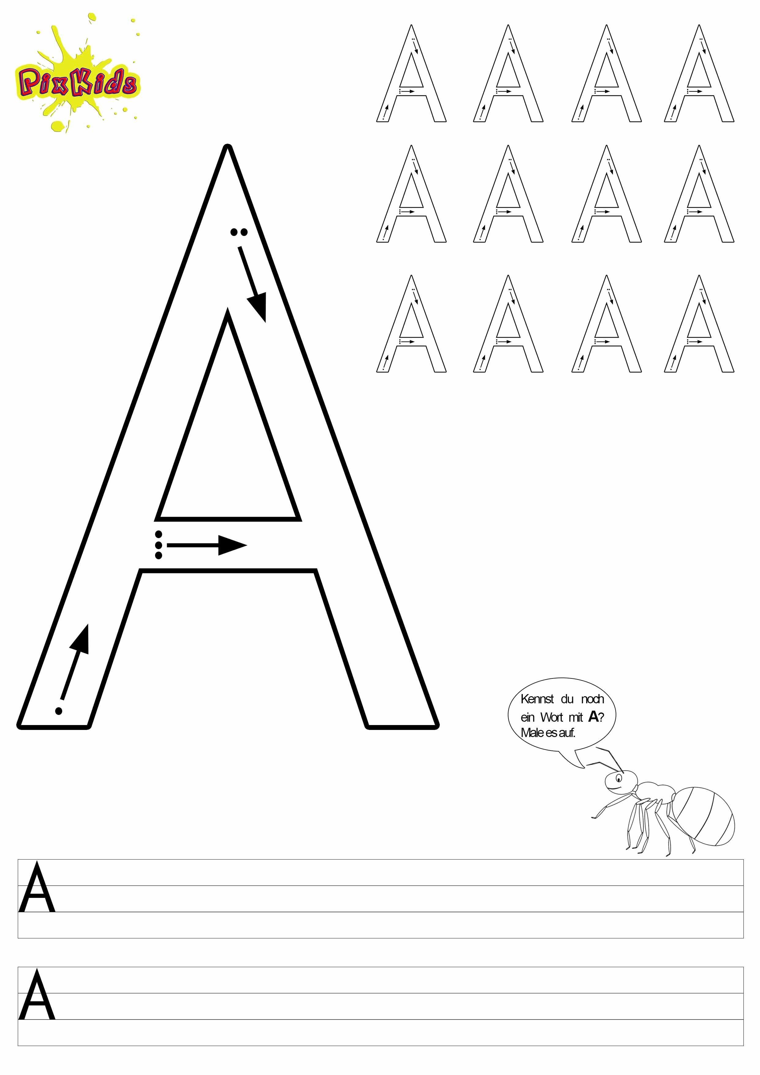 buchstaben schreiben lernen arbeitsbl tter buchstabe 2480 3508 vorschule pinterest. Black Bedroom Furniture Sets. Home Design Ideas