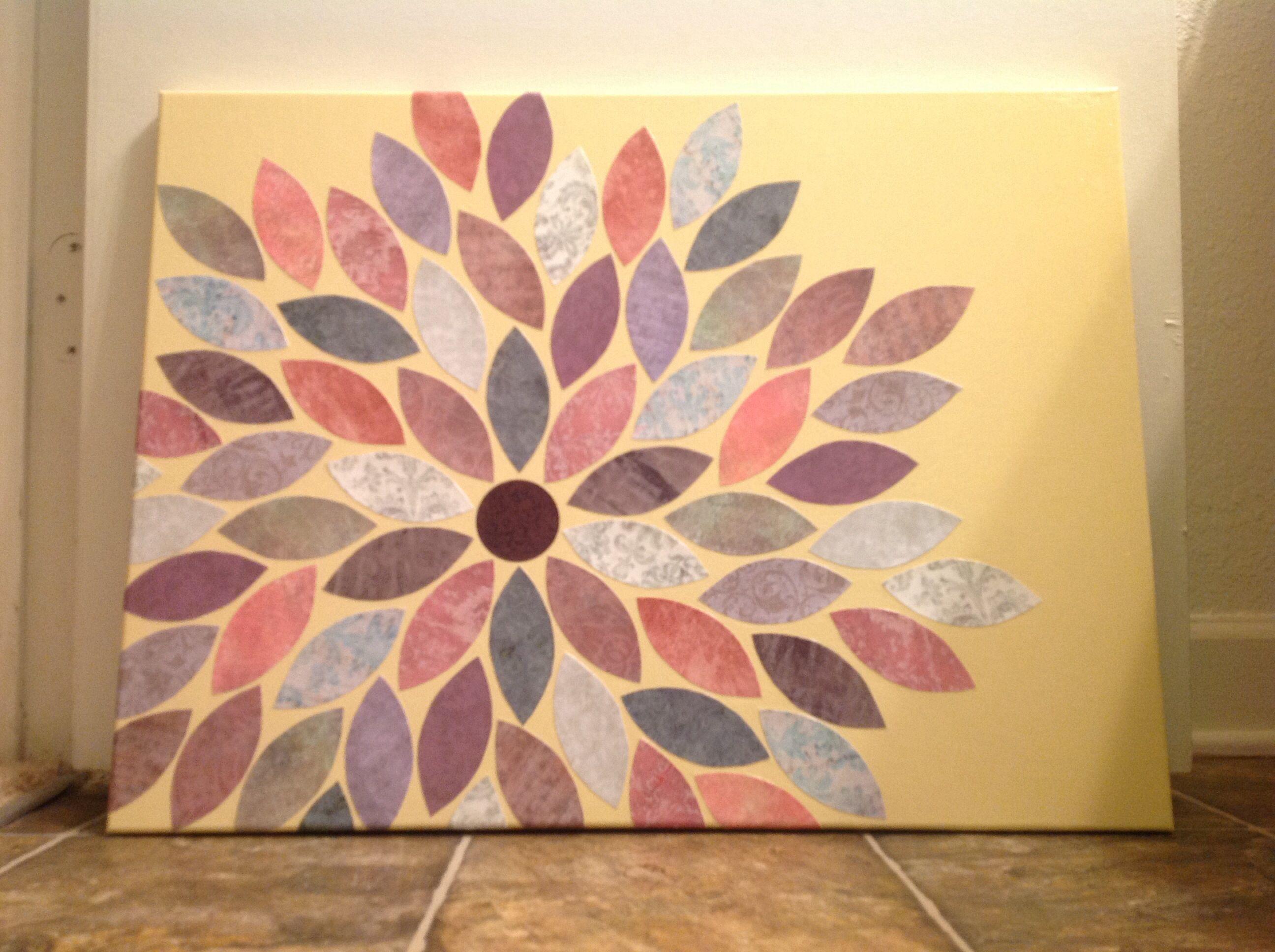 Diy canvas wall art wallart pinterest diy canvas craft and crafty