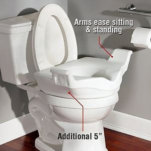 Astounding Handicap Raised Toilet Seats 1 Across Rca Toilet Machost Co Dining Chair Design Ideas Machostcouk