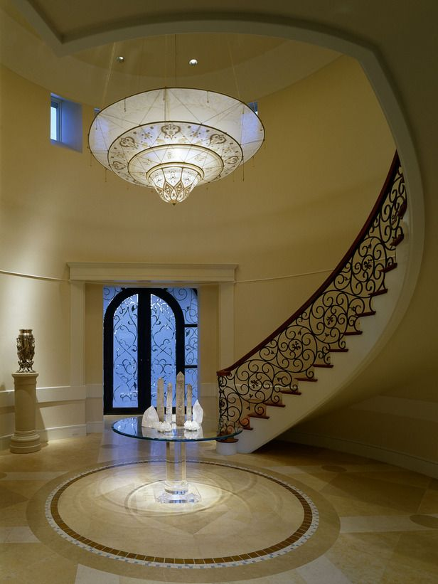 elegant foyer (2)   staircase - escaleras   pinterest   foyers