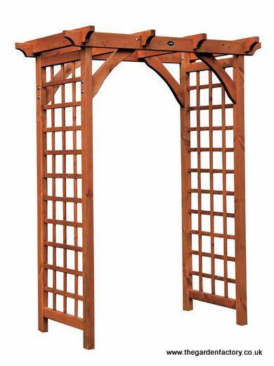wooden arches   Wooden Pergola Garden Arch by AFK   Nell   Pinterest