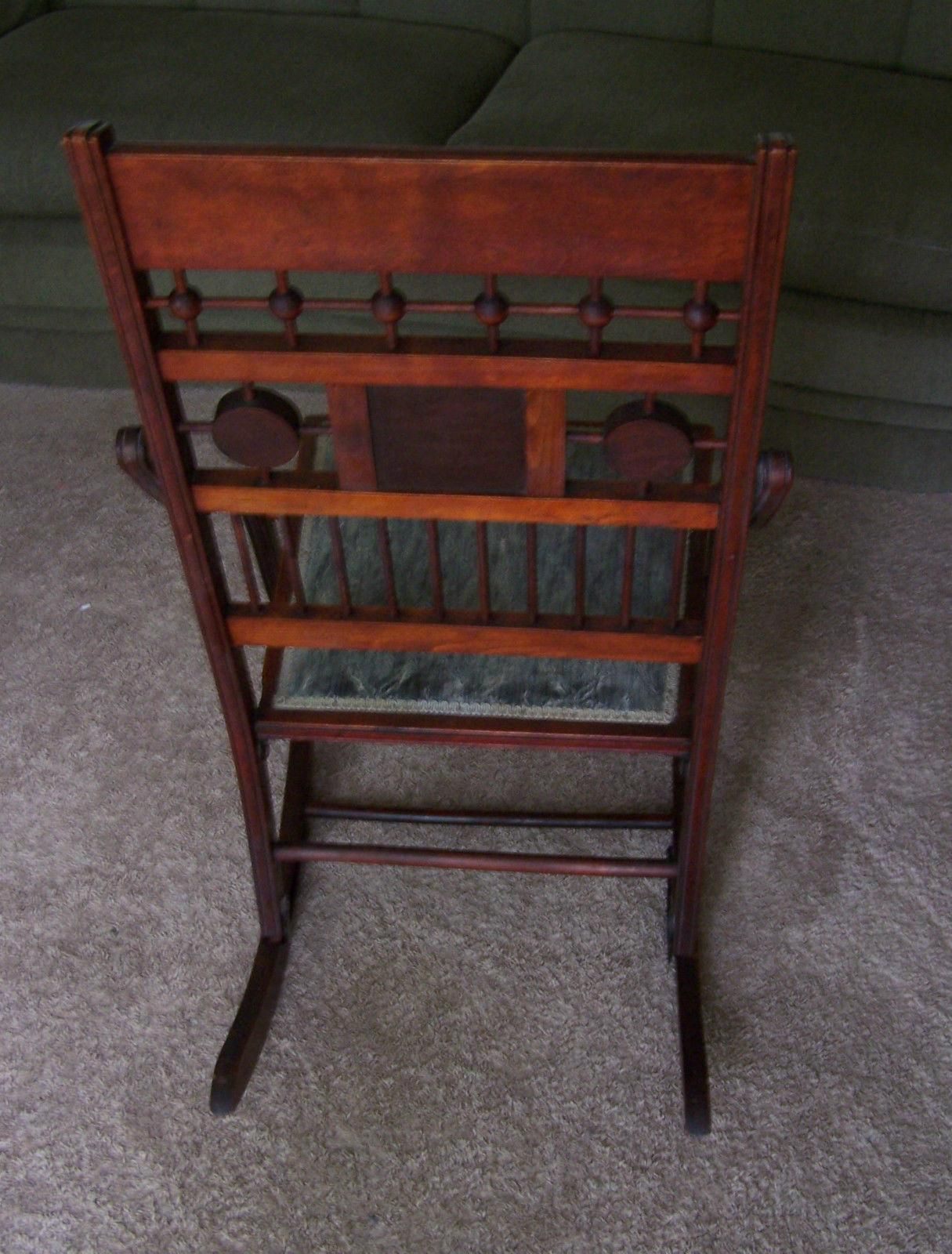 Victorian Campaign Folding Chair