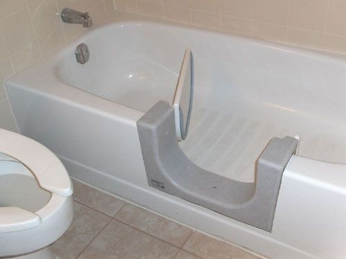 Handicap Bathroom Accessories tub transfer bench: a bathtub-accessing system for elderly people