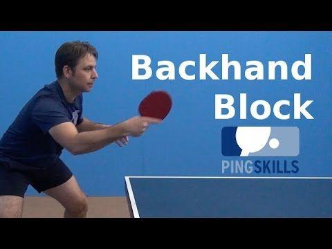 Backhand Flick Table Tennis Pingskills Youtube Tennis Videos Table Tennis Olympic Table Tennis