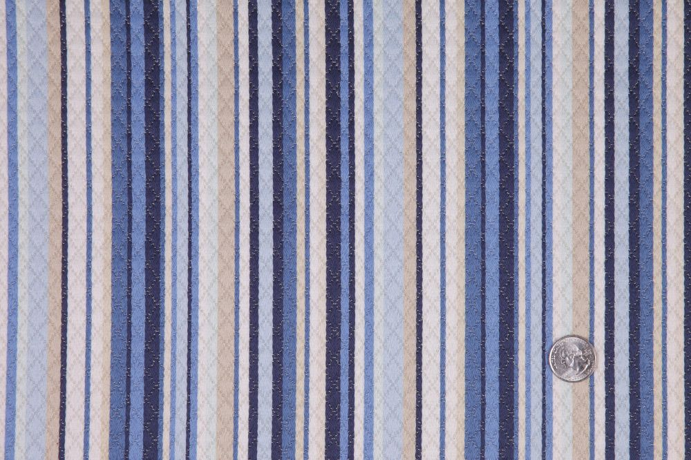 Lapis Stripes Quilted  Product #:HC21275  Price: $18.00/Yard