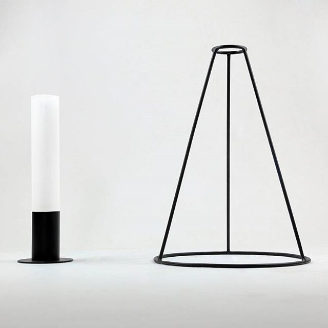 The two parts of the lamp Ubique #productdesign #industrialdesign #design #light #lightdesign