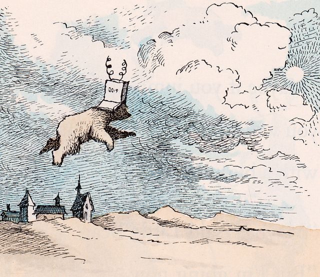 the style of maurice sendaks work in his little bear series Maurice sendak was best known for his children's books, where the wild things are, in the night kitchen, and outside over therehe also applied his unique style of art in the production and design of famous operas, plays, and ballets.