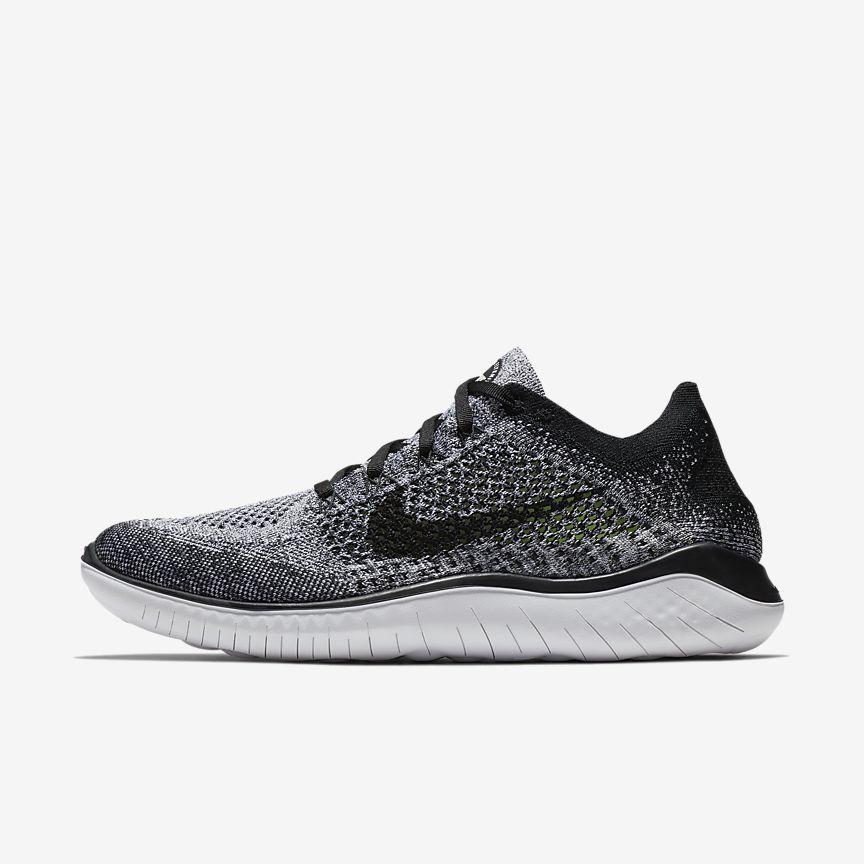 huge selection of 1014f 897a2 Nike Free RN Flyknit 2018 Men s Running Shoe