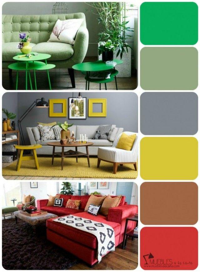 Aprende a escoger tu propia paleta de colores el ambiente de colores y estancias - Gama de colores para interiores ...