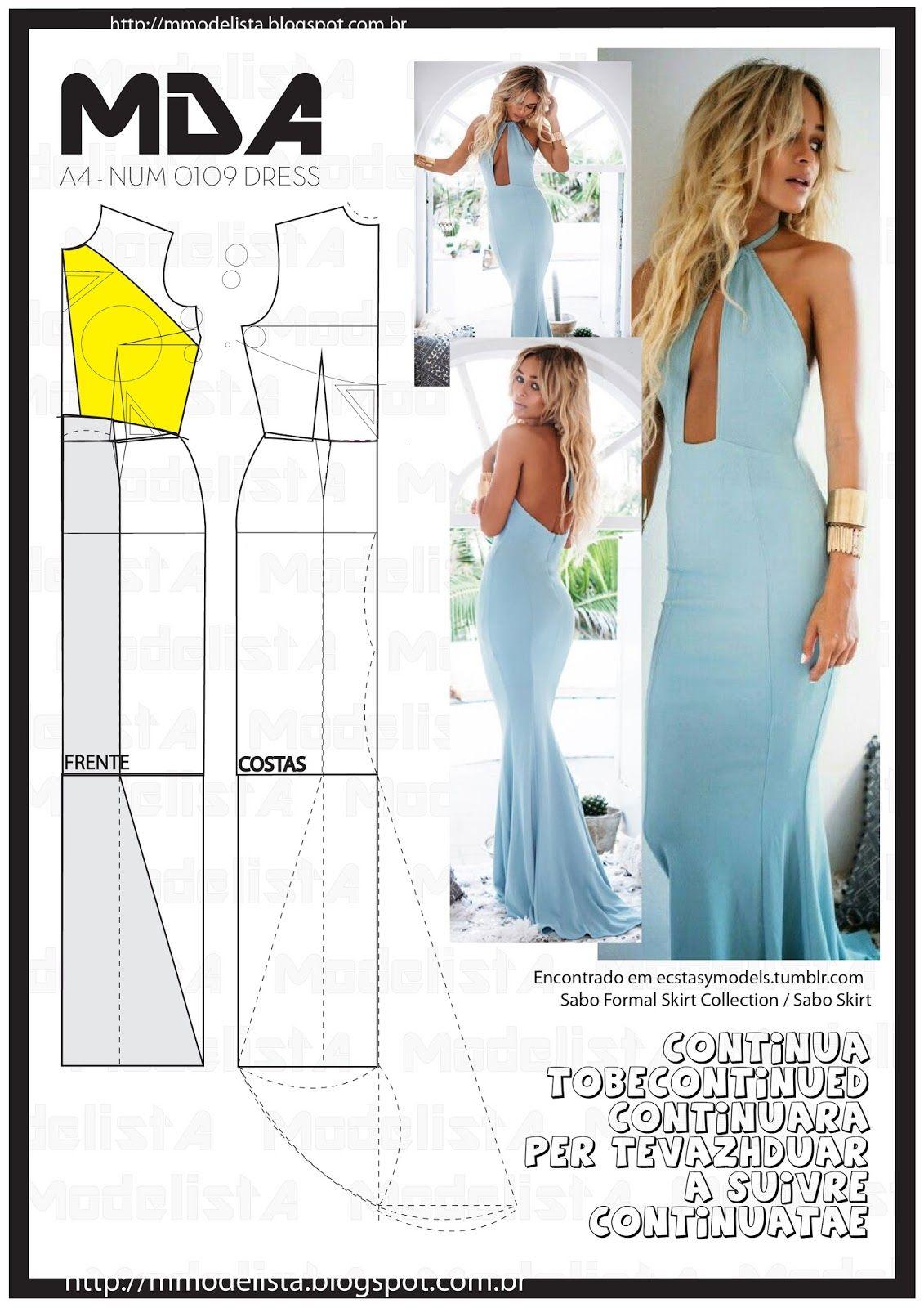 Sewing pattern/ dress