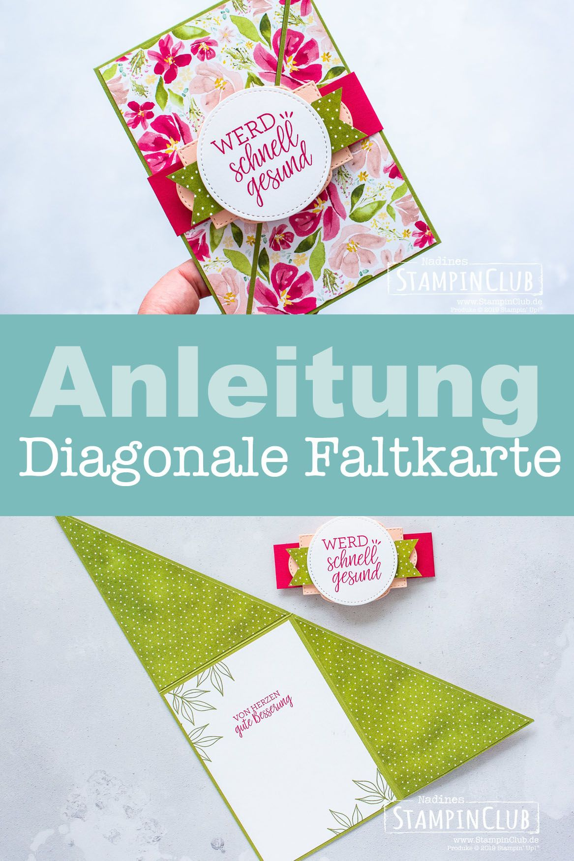 Tutorial Diagonale Faltkarte