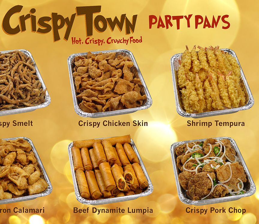 CrispyTown Party Pans, Popular Filipino Party Food Pre