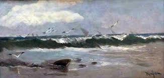 oleo mar con olas - Buscar con Google