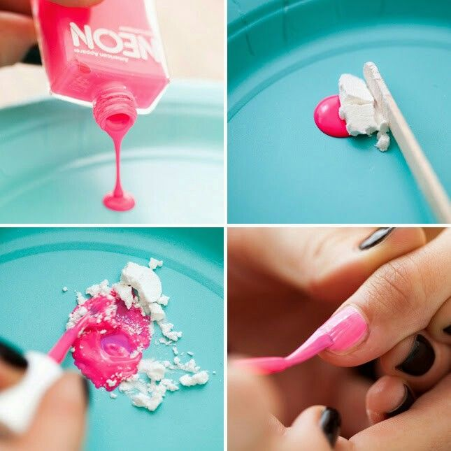 how to make your own matte nailpolish | D¡Y | Pinterest