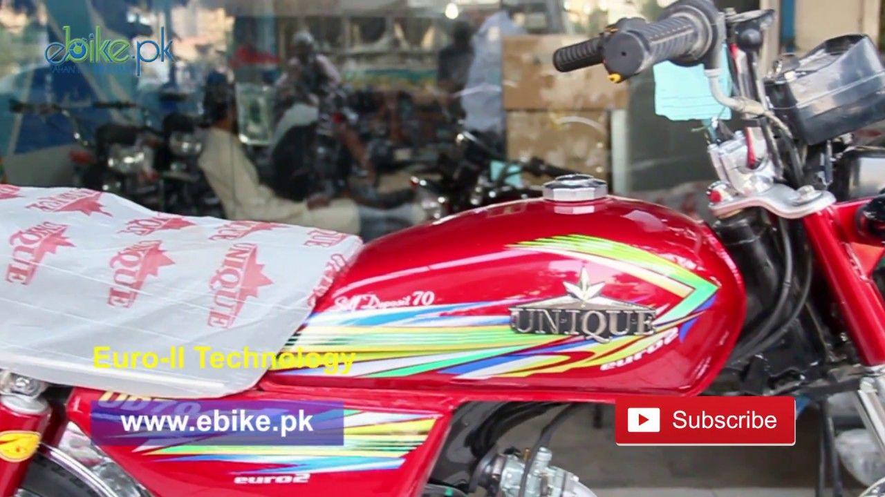 Unique 70cc 2018 Model Price In Pakistan Red Color Black Colors