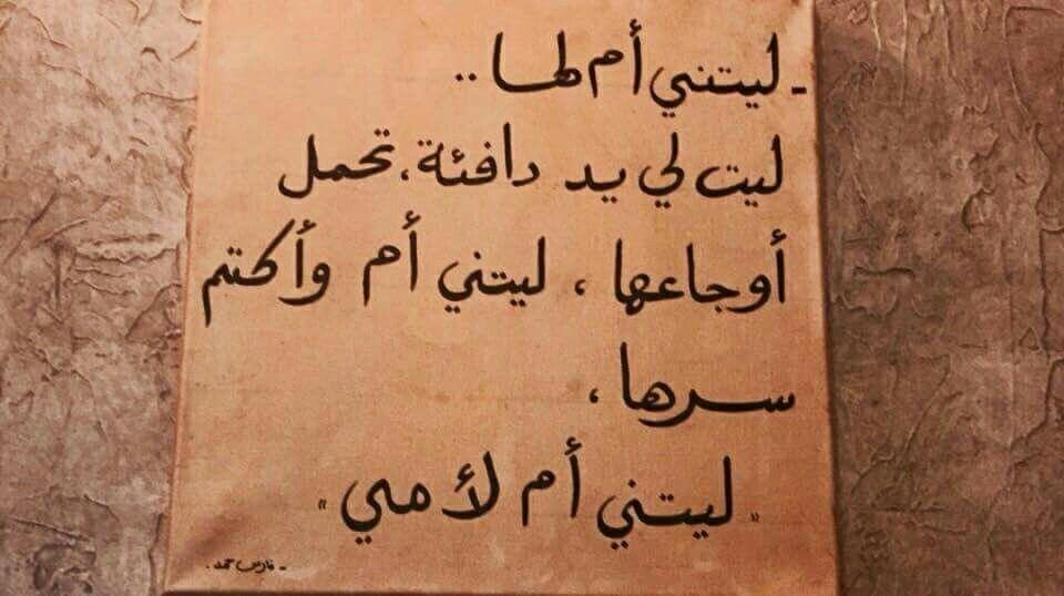 ليتني أم لأمي Quotes Arabic Quotes Words