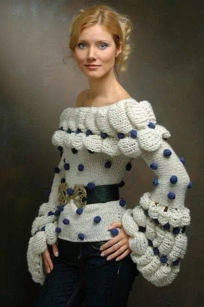 That's a sweater...