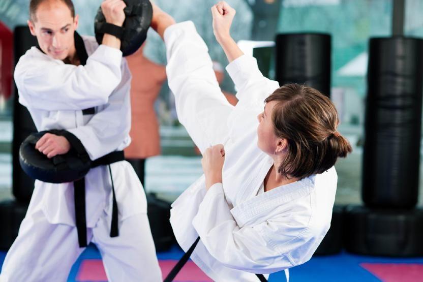 Fitness through taekwondo dan petras accenture image
