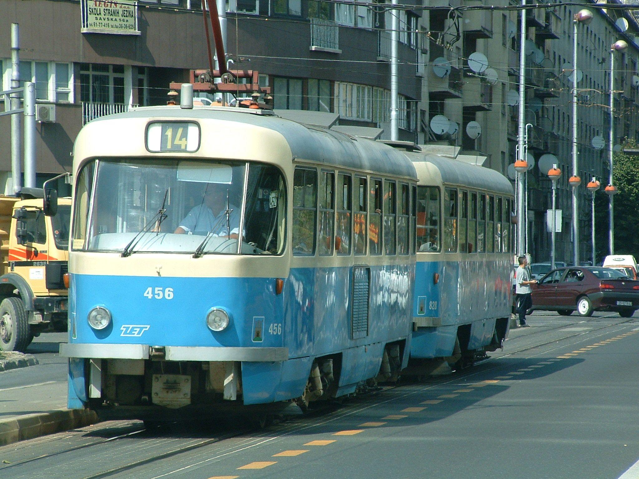 Zagreb Croatia Tram Cheap Ride See The Town Strassenbahn Oldtimer Welt