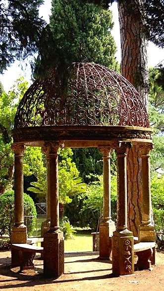 Tuscan Style Portico Toskanische Einrichtung Toskanischer Garten Und Toskanische Deko
