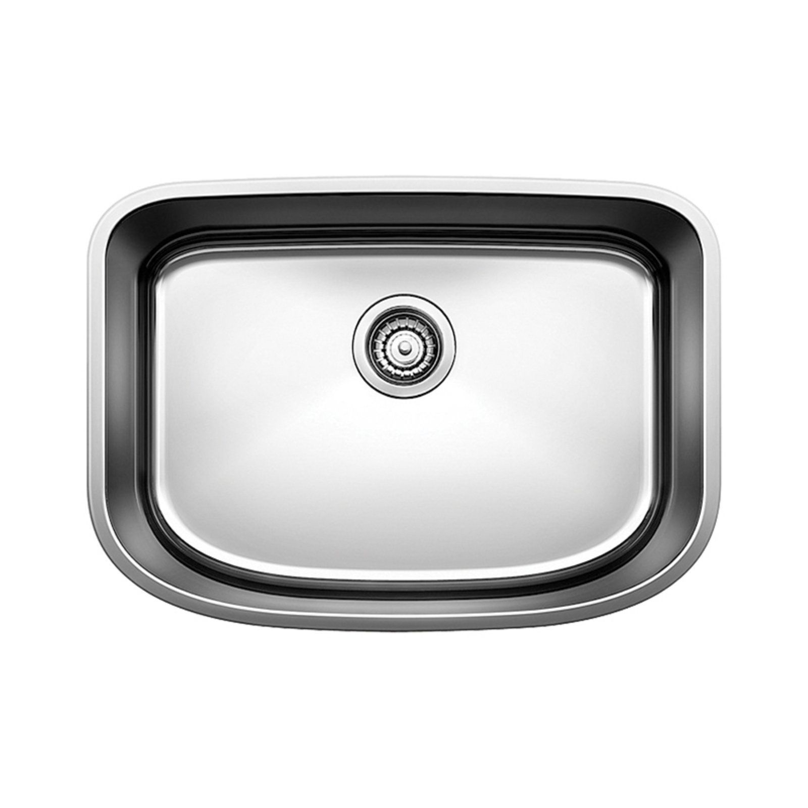 Blanco One 25 In Single Basin Undermount Kitchen Sink Stainless