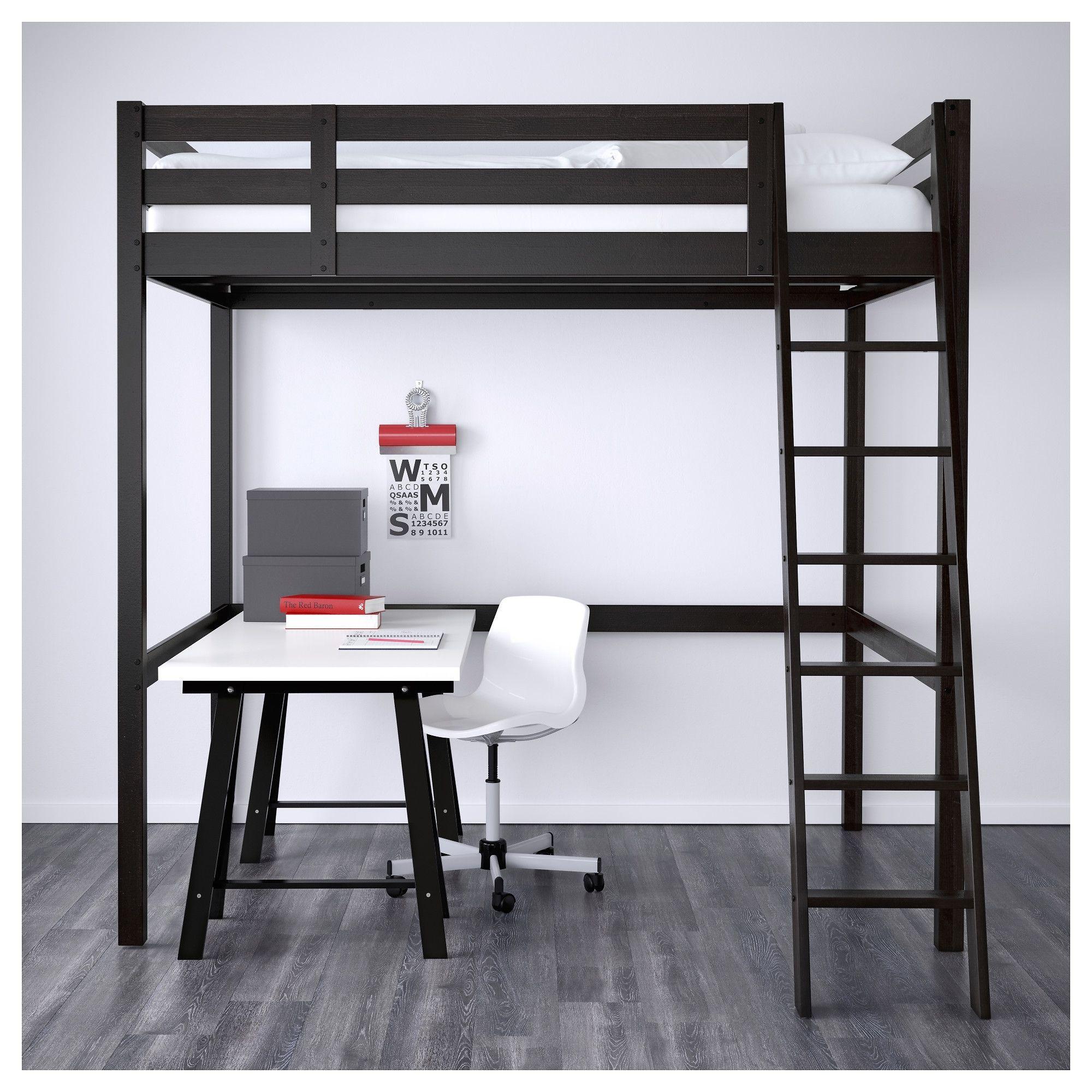 Stor Hochbett Gestell Ikea Schlafzimmer Bett Haus Und Heim