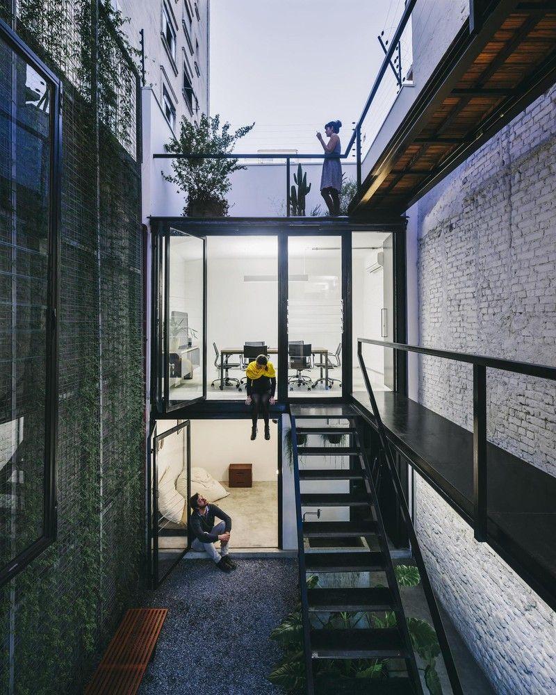 O ser humano como medida da arquitetura,Produtora Kana / AR Arquitetos . Image ©…