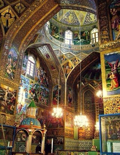 The Holy Savior Cathedral (Սուրբ Ամենափրկիչ Վանք), also known as the Vank Cathedral Isfahan, Iran