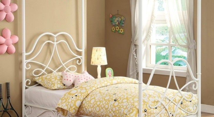 Top 10 Twin Canopy Bed Frame Designs | Twin Bed Frame | Pinterest ...