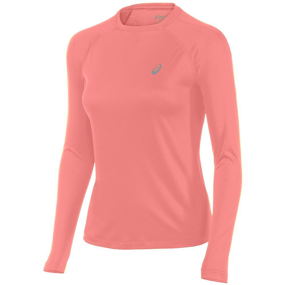 Women's ASICS Crewneck Raglan Running Top, Size: XL, Black