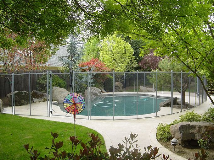 Getapoolfence Com Small Backyard Pool Fence Backyard