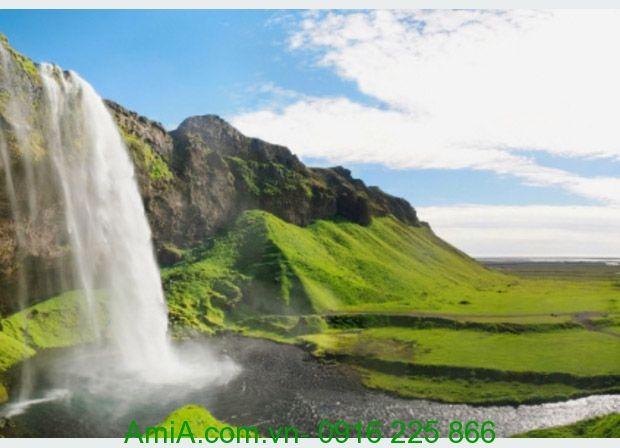 Cảnh thiên nhiên thác nước tuyệt đẹp
