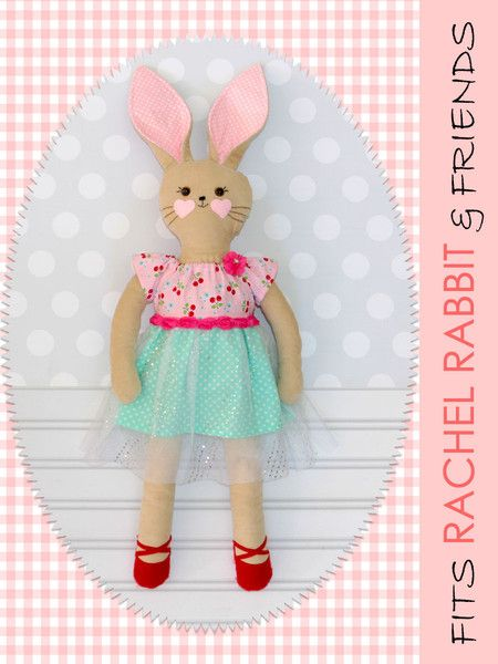 18 inch doll dress sewing pattern | Doll Patterns, Rag Doll Patterns ...