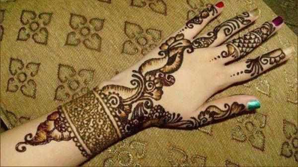 Mehndi Patterns Images : Arabic mehndi design an overview creative henna designs