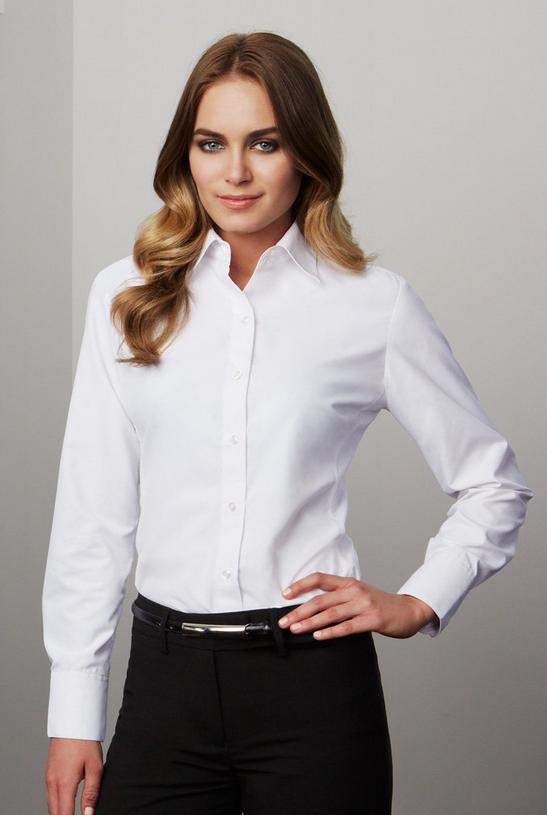 LONG SLEEVE AMBASSADOR SHIRT - Buy Womens WorkWear Online in Australia