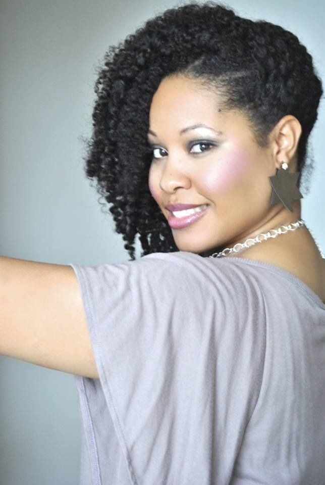 Side Swept Twist Out Beautiful Hair Natural Hair Styles