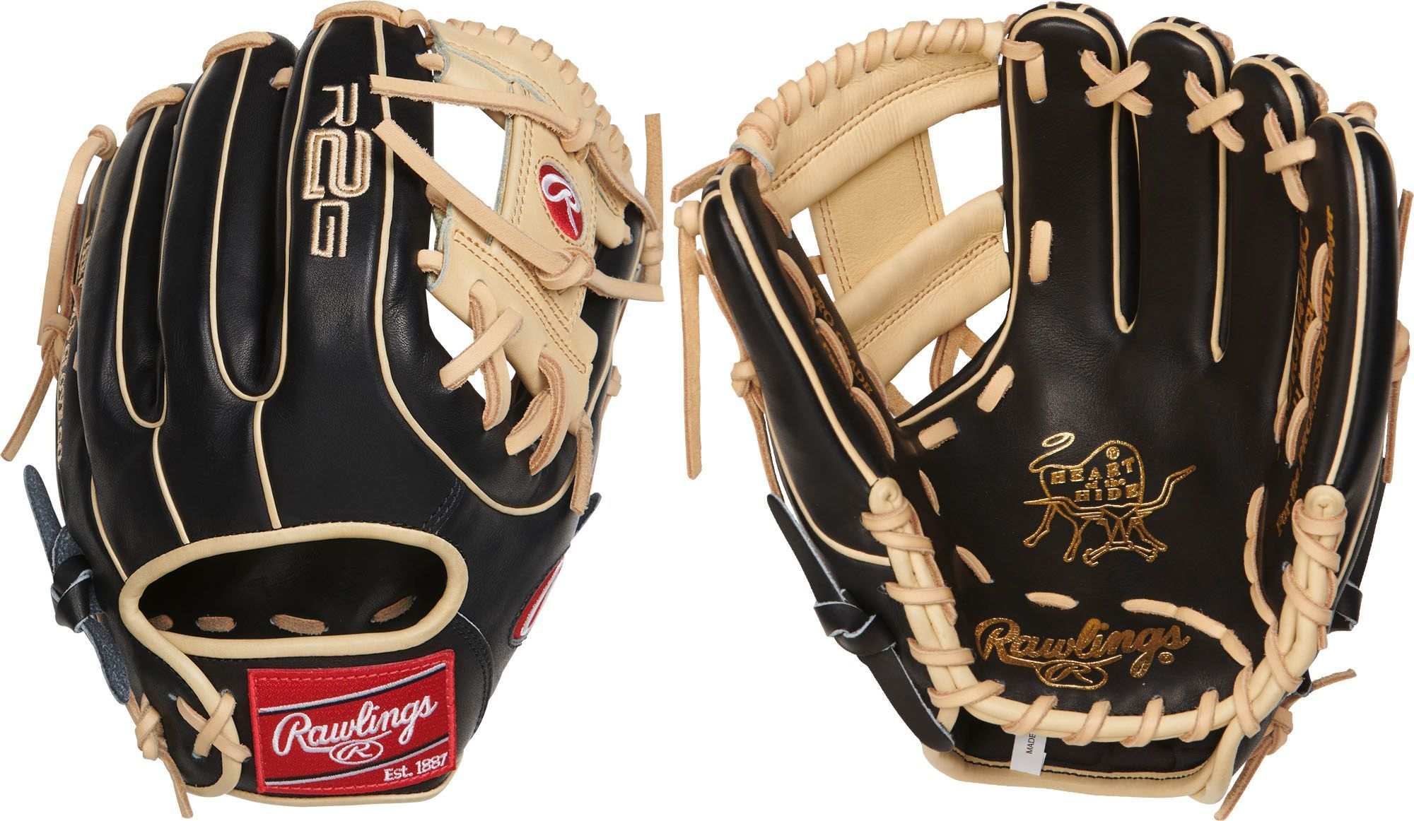 Rawlings Youth 11 5 Hoh R2g Series Glove 2019 Softball Gloves Gloves Youth