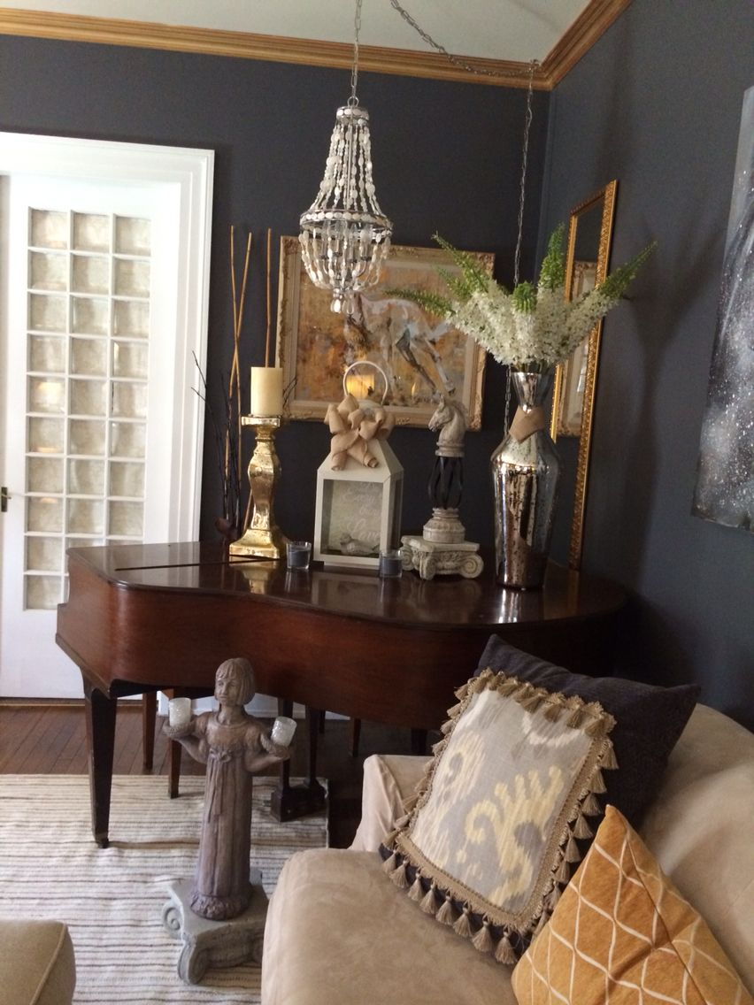 Living room Peppercorn by Sherwin Williams