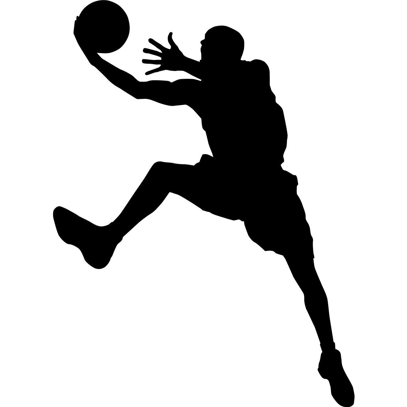 Wall Art Murals Decals Stickers Basketball Silhouette Google Search Printables
