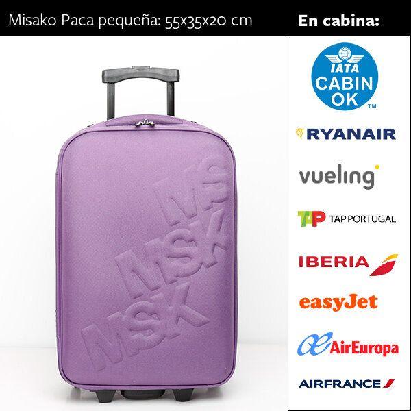 42d2ae6bc Guía de equipaje de cabina: ¡Viaja sin facturar | Maletas | Equipaje ...