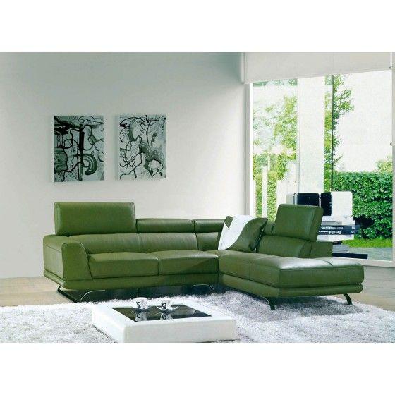 8012 - Modern Bonded Leather Sectional Sofa | VGEV-SP-8012 | VIG ...