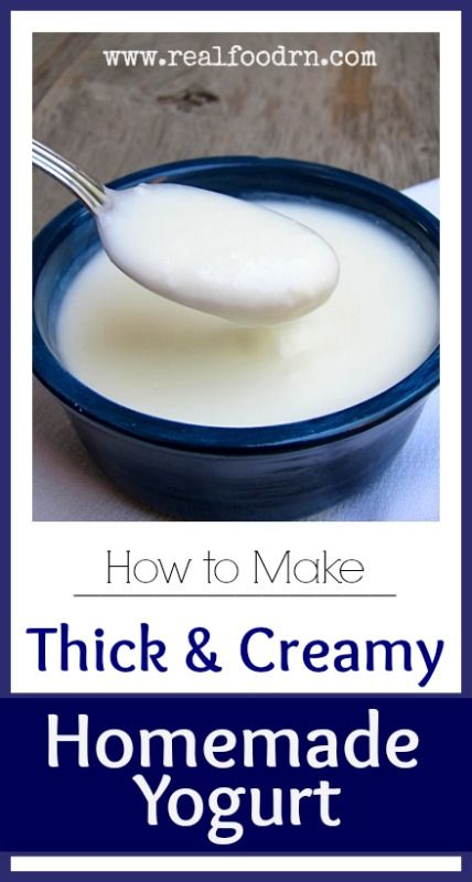How To Make Thick Yogurt At Home How To Make Thick Creamy Homemade Yogurt Recipe Real Food Recipes Homemade Yogurt Food
