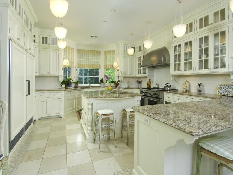 This is my kitchen! Elegant White Springs Granite Texture for Table ...