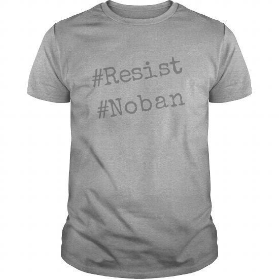 Awesome Tee No ban resist tshirt T-Shirts