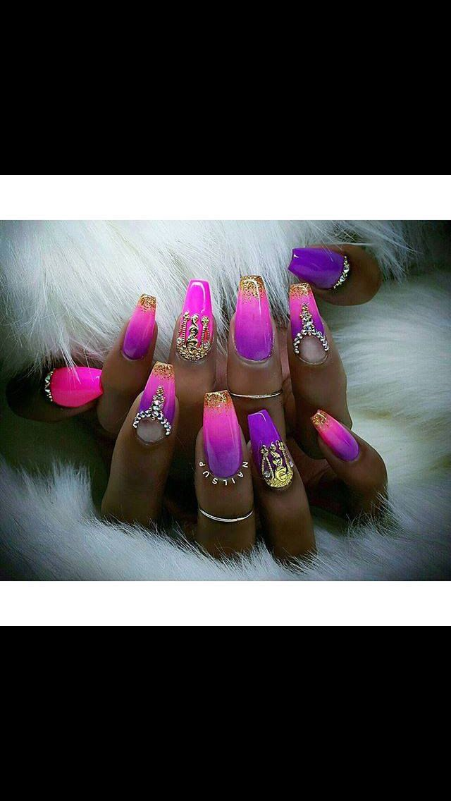 Pin by J. Ś.✨ on nails   Pinterest   Queens, Dope nails and Nail nail