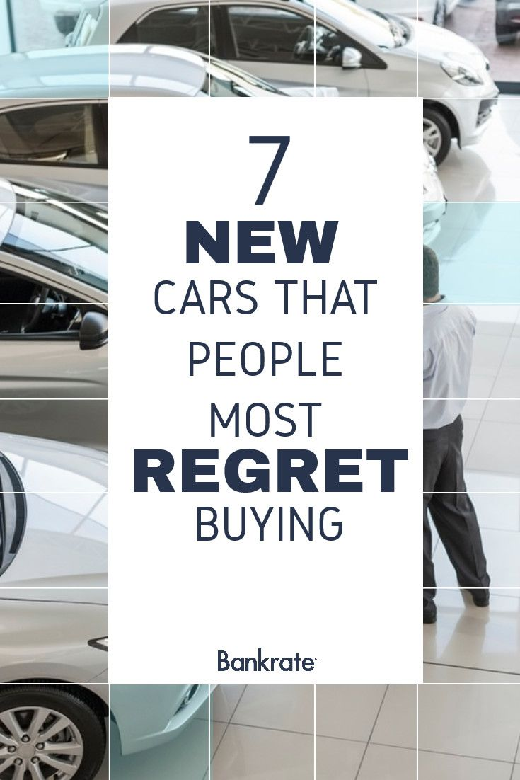 7 New Cars That People Most Regret Buying Car Insurance Regrets