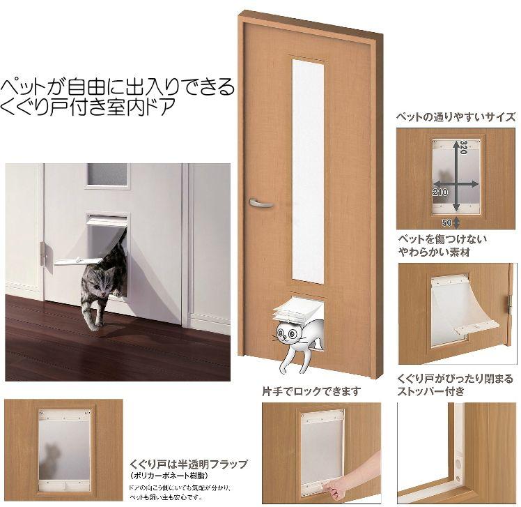 猫用ドアをどうする 自作でdiyか自動扉を取り付ける 築一報告 いえトピ 猫ドア ドア ペット用ベッド